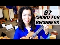 Ukulele School ~ B7 Chord Tutorial