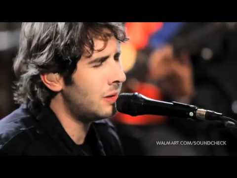 02 - Josh Groban - February Song (Walmart Soundcheck).flv