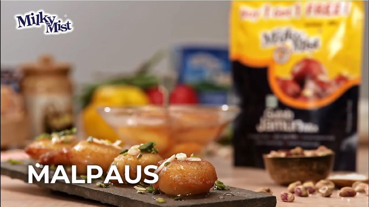 Special Super-Soft Malpua Recipe| Indian Dessert Recipe| English Recipe| MilkyMist