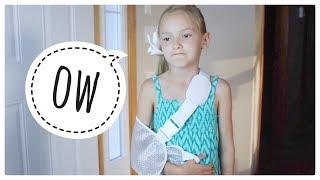 Lyla Broke Her Arm!?!