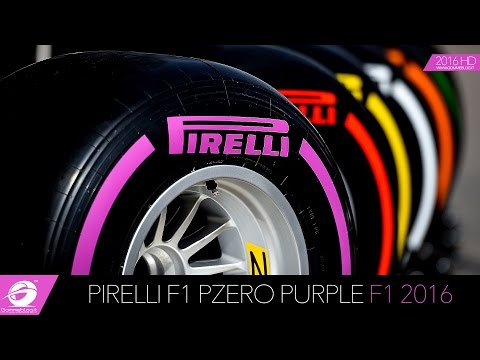 Pirelli F1 PZero Purple: The New F1 2016 Ultrasoft Tyre