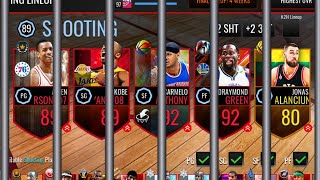 JAIL TEAM!!! (PLAYERS WHO WERE ARRESTED) + GIVEAWAY WINNERS! | NBA LIVE MOBILE!