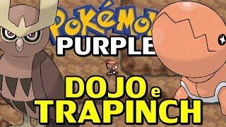 Pokémon Purple (Detonado - Parte 9) - Dojo do Eevee, Trapinch e Telas Pretas