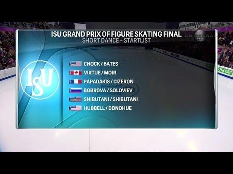 2016 GPF - Ice Dance Short Dance Universal HD Full Broadcast