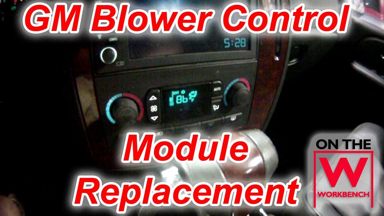 gm blower control module replacement [ 1280 x 720 Pixel ]