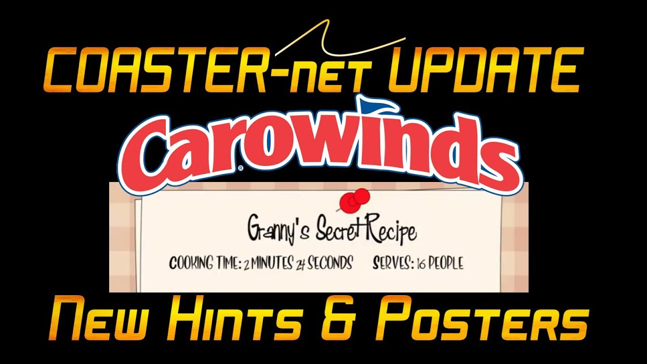 New Hints and Posters on Project Alpha 2019 Roller Coaster at Carowinds -  COASTER-net Update
