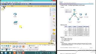 Packet Tracer Configuring Wireless LAN Access