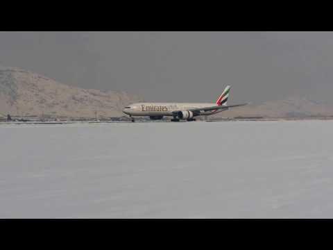 Emirates Landing Kabul, Afghanistan