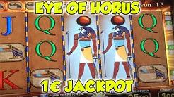 Eye of Horus JACKPOT auf 1€ - FREISPIELE in der Merkur Spielothek HD