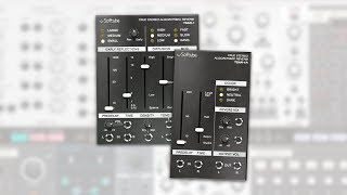 TSAR-1 and TSAR-1R Reverb for Modular