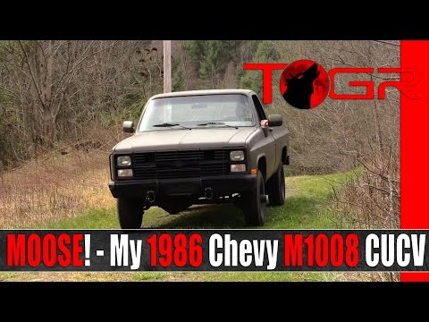 MOOSE! - My 1986 Chevy M1008 CUCV (D30)