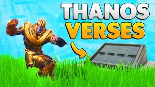 THANOS VS THE SECRET BUNKER In Fortnite: Mythbusters