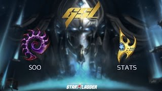 2017 GSL S1 Final: soO (Z) vs Stats (P)