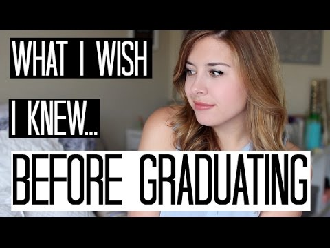 What I Wish I Knew Before Graduating College!
