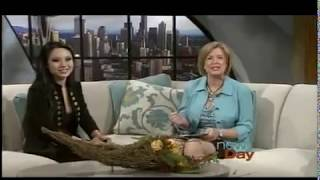 Tina Guo Live on New Day Northwest: Performance and Interview