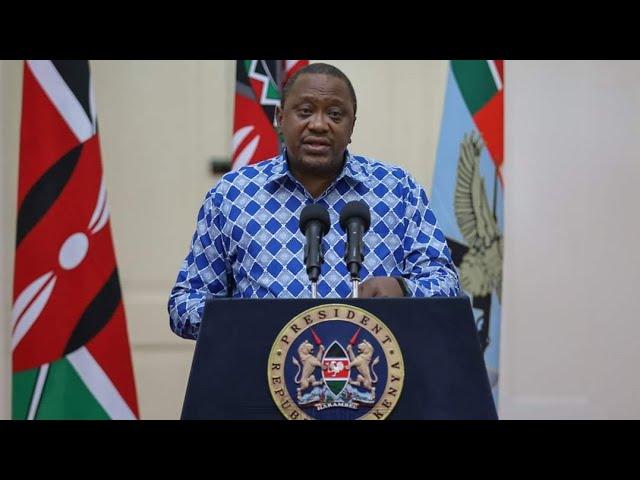 President Uhuru Kenyatta Speech today Announcing Reduction of Taxes