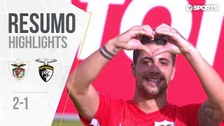 Highlights   Resumo: Santa Clara 2-1 Portimonense (Liga 18/19 #20)