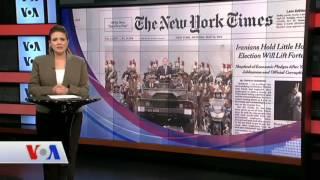 15  Mayıs Amerikan Basınından Özetler