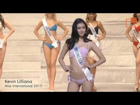 Deretan Putri Indonesia Berbikini Seksi Paling Berani & Aksi Memukau Kevin Lilliana