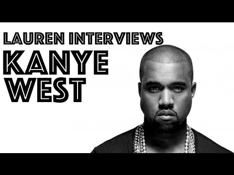 KANYE WEST INTERVIEW (2007) | Lauren Toyota