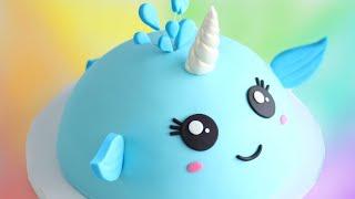 Cutest NARWHAL Cake!!