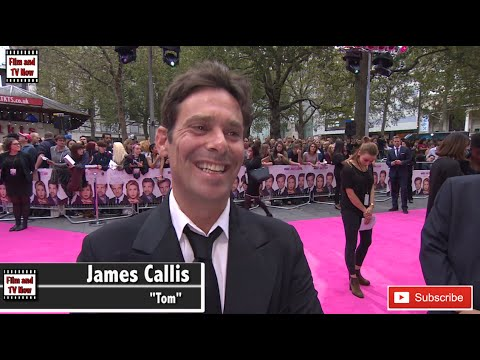 James Callis feels like he has been 'bashed around the head by a brick' at the Bridget Jones's Baby