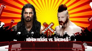 Romain Reigns vs Sheamus  - WWE Universe - WWE 2K16 PC