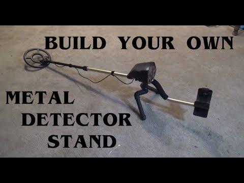 DIY Metal Detector Stand