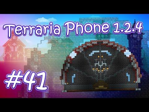 видео: lp. hm. terraria phone 1.2.4 #41 (Постройка для хранения трофеев)
