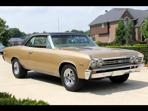 1967 Chevrolet Chevelle Ss396 For Sale Youtube
