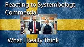 Reacting To Systembolaget Commerical