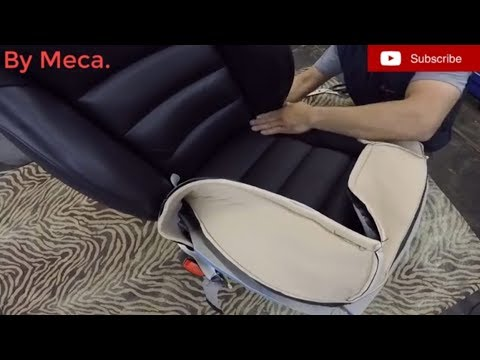 How to Reupholster a Corvette seat bottom cushion DIY Como tapizar el asiento de un corvette .