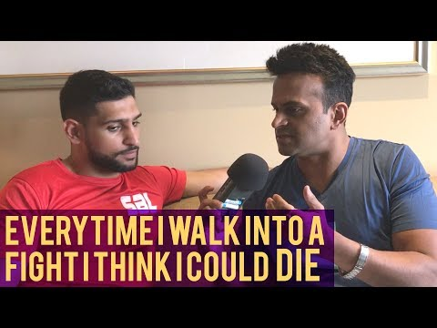 "World Boxing Champion Amir Khan ""Every Time I walk into a fight I think I could die!"""