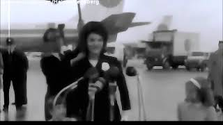 May 26, 1965 - Jacqueline Kennedy's remarks upon leaving from London Airport