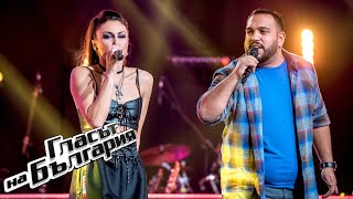 Kerana vs Almir - Blurred Lines | Battles | The Voice of Bulgaria 2020
