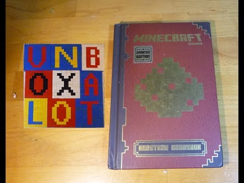 Minecraft Redstone Handbook Book Review Mojang Scholastic Revised Edition Unboxalot 419