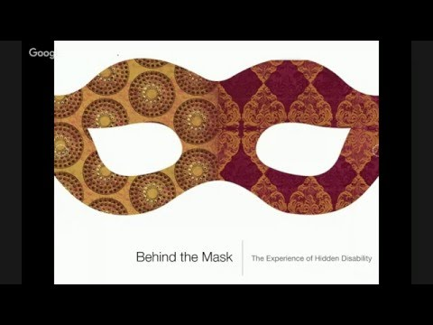 #ID24 2016: Behind the Mask: The Experience of Hidden Disability w/Molly Holzschlag