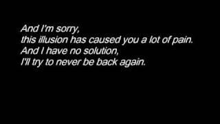 Evergrey - I'm sorry lyrics