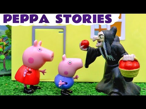 Thumbnail: Peppa Pig English Episodes Compilation Play Doh Halloween with Thomas and Friends Toy Trains TT4U