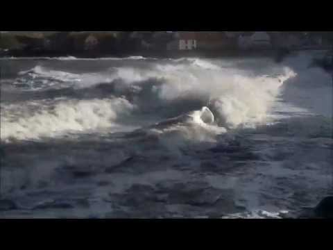 Turbulent seas, 1st February 2015 Eyemouth and St Abbs following Northerly gales overnight