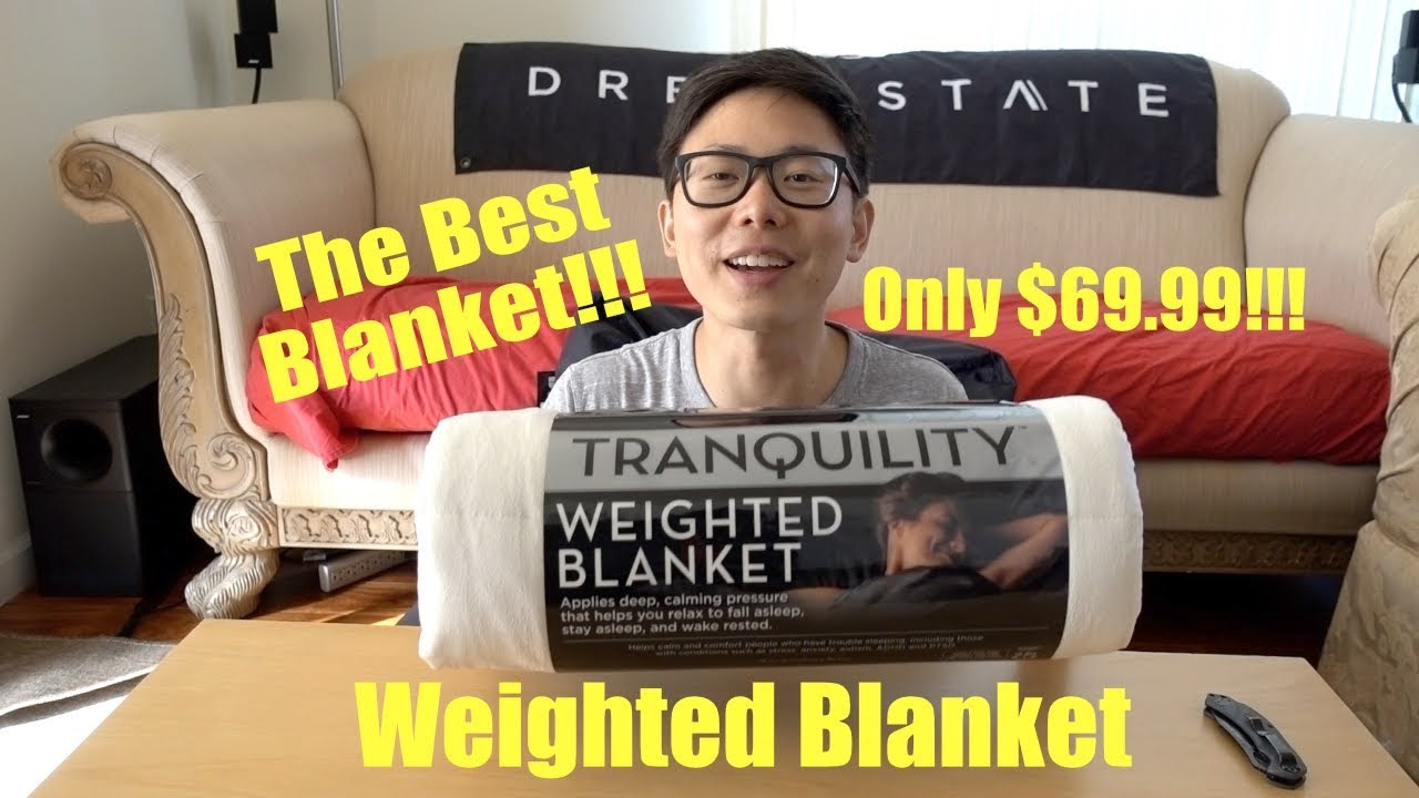 The Cheapest Weighted Blanket Must Buy Blanket Tranquility
