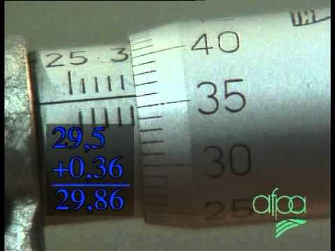 Usinage - Mesurer au micromètre