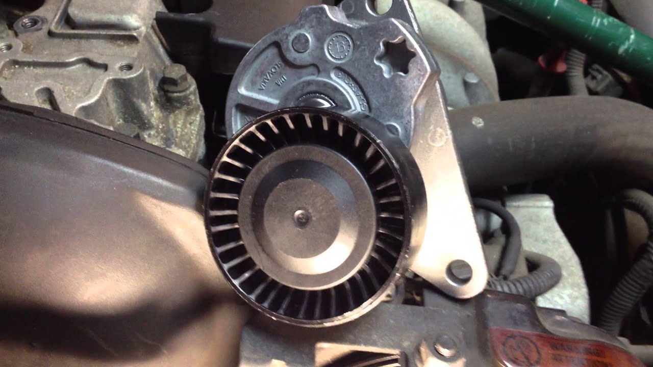 small resolution of 2003 volvo s40 serpentine auxiliary accessory belt change