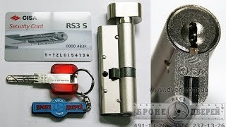 Цилиндр Cisa rs-3s Взломостойкие бронедвери Киев и замки Cisa(, 2013-11-28T14:07:26.000Z)