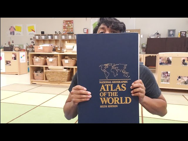 World atlas and map making