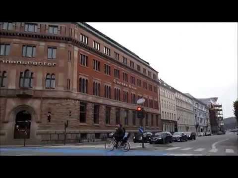 City Center & Osterbro, - Copenhagen, Denmark -  Drive Through
