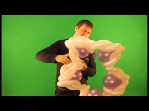 Звезда фальконе из шаров видеоурок
