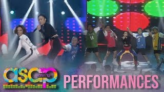 Alex Gonzaga's 'Chambe' dance takes over on ASAP Natin 'To stage. S...