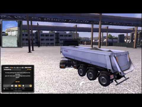 Euro Truck Simulator - Part 2 - Parking lesson!