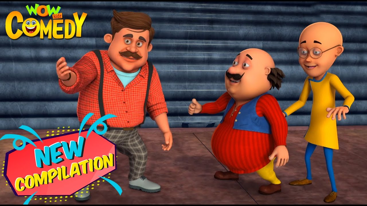 Download Motu Patlu in Hindi   New Compilation 95   Animated Series   Wow Kidz Comedy